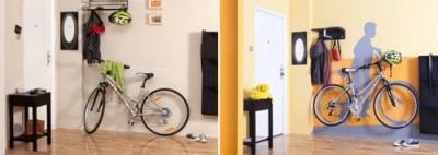 أين وكيف لتخزين دراجة في الشقة