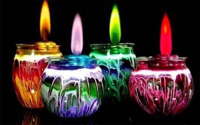 كيفية استخدام بقايا الشموع القديمة