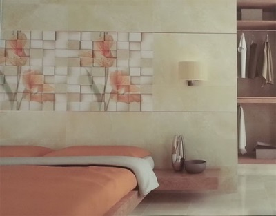 بلاط السيراميك في المناطق الداخلية من غرفة النوم