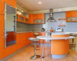 اتجاهات الموضة الحديثة في المناطق الداخلية من المطبخ