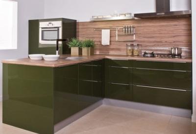 اختيار المواد لجدران المطبخ
