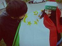 Historie o miłości - tadżycki i rosyjskim