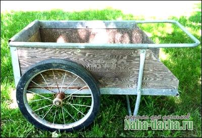 Pedicabs własne ręce - dając własne ręce budować, roślin, dekoracji, mistrzów w kraju przez jego