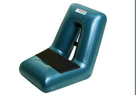 Scaun gonflabile pentru PVC barca - rating de cele mai bune modele și modul de a face propriile lor mâini