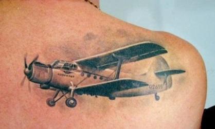 Portal Tatuaż Samolot