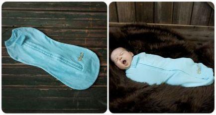 Як зшити кокон для новонароджених своїми руками, форма пелюшки