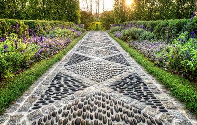 Оформлення газонів дизайн і оформлення газону на дачній ділянці, фото ландшафтного дизайну