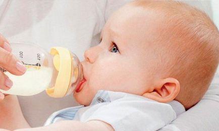 Jak określić, ile mleka dziecko je
