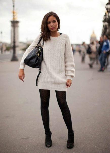 Светр оверсайз (89 фото) з чим носити об'ємний светр, вільний і великий, модні моделі
