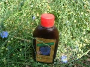 Лляна олія, склад, властивості і застосування