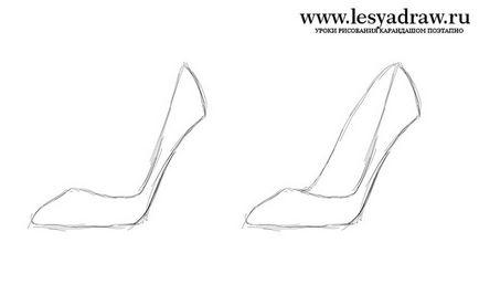 9e1cdcdf477553 Як намалювати взуття олівцем