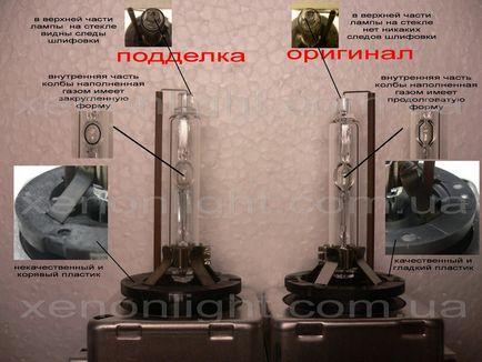 Jak odróżnić oryginalną lampę od chińskiej kopii, jak odróżnić oryginalną lampę od chińskiej,