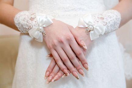 Гарний манікюр на весілля нареченій - ідеї дизайну, інструкції та фото