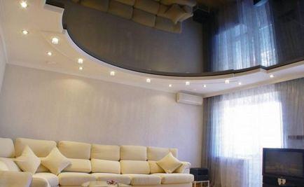 Як мити глянцеві натяжні стелі без розлучень засоби і методи їх застосування