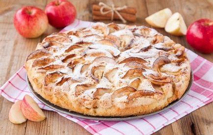Дієтична шарлотка з яблуками кращі рецепти