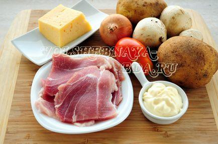 М'ясо по-французьки в мультиварці, чарівна