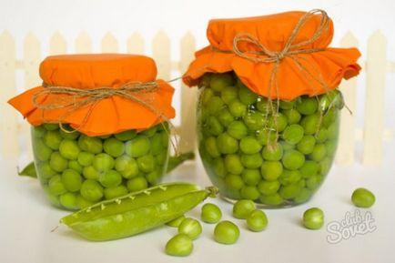 Jak zachować zielony groszek