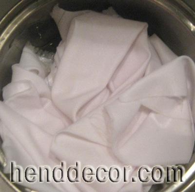 Як підготувати (желатин) тканину для створення квітів - калейдоскоп декору