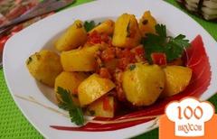 Смажена картопля по - закарпатськи з салом, часником і цибулею - покроковий рецепт з фото