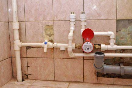 Jak prawidłowo wykonać rury w łazience i toalecie własnymi rękami