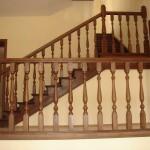 Балюстрада для дерев'яних сходів