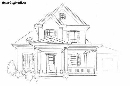Jak Narysować Dom Pięknie I łatwo Oł 243 Wkiem W Etapach Jak