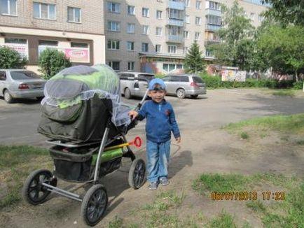 Как да се надолу по стълбите с детска количка и бебе, деца и пътуване