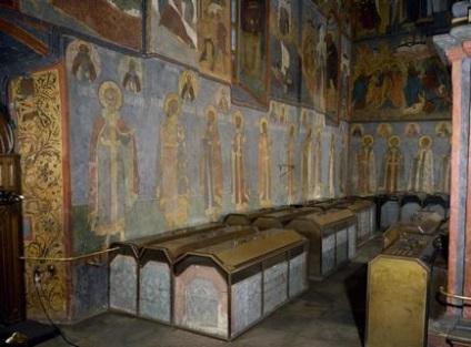 Музеї московського кремля архангельський собор