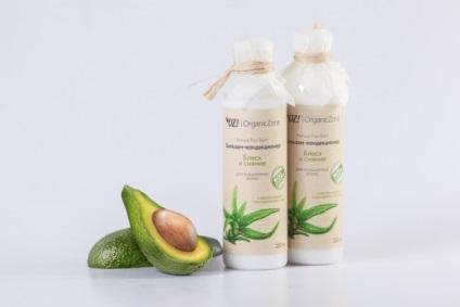 Бальзам для фарбованого волосся - блиск і сяйво, organiczone - натуральна косметика