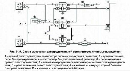Схема включения вентиляторов лада гранта