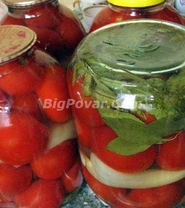 Консервовані помідори від бабусі рецепт з фото, покрокове приготування