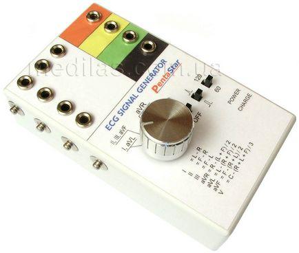 Генератор кардіосигналу (симулятор ЕКГ для перевірки кардіографів, кардіогенератор, імітатор ЕКГ)