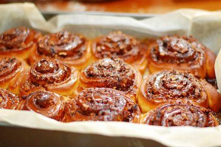 Секрети приготування солодких булочок сінабон