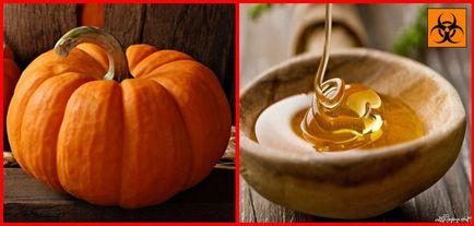 Гарбуз з медом для очищення печінки - смачне лікування