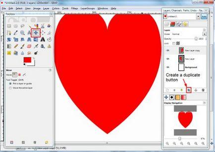 Валентинки своїми руками малюємо серце в gimp
