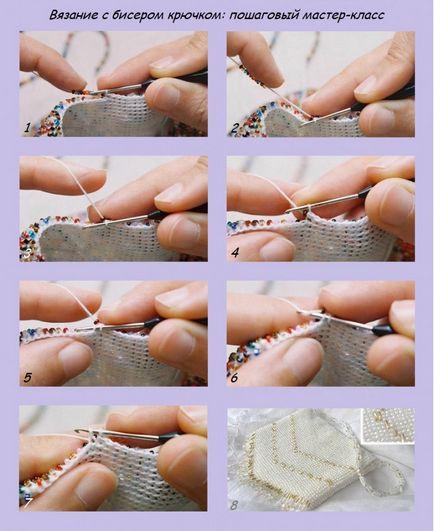 Бисер для вязания спицами