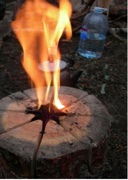 Як зробити індійську свічку винаходи