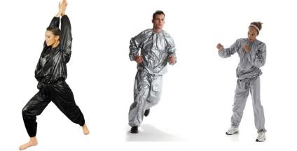 Як працює костюм-сауна для схуднення