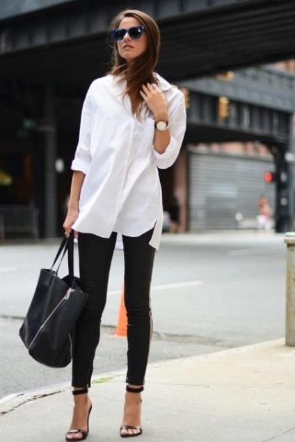 З чим носити біле плаття (65 фото) влітку, плаття-сорочку, як носити, образи, в'язане,