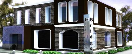 Фасад кафе варіанти стилів, матеріали, рекомендації