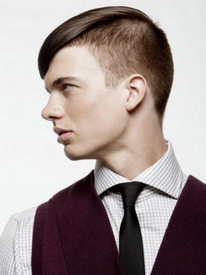 Чоловіча стрижка британка фото-підбірка і поради з укладання