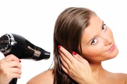 Як укласти волосся феном, щоб був обсяг