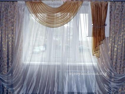 Штори для вітальні - 100 варіантів фото новинок