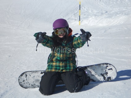 Jak wybrać snowboard na wzrost i wagę, szkoła dla kobiet