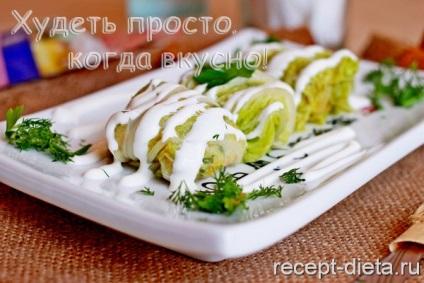 Голубці з пекінської капусти - дієтичні рецепти