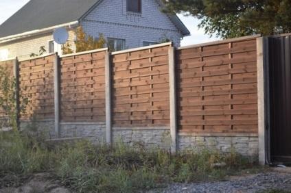 Фото дерев'яних парканів