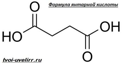Acidul succinic și vederea. Acid succinic cu glicină pentru tratamentul alcoolismului