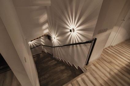 Oświetlenie Schodów W Domu Prywatnym Zarządzanie Zdjęciami I