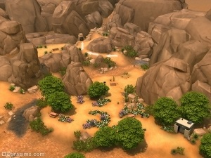 Секретні локації в the sims 4