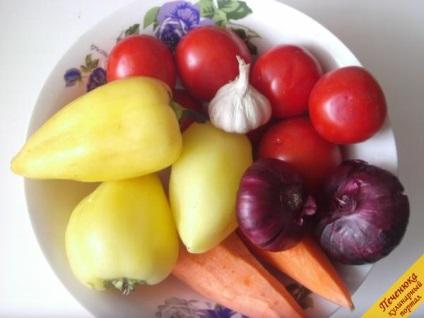 Салат ласунка на зиму (покроковий рецепт з фото)